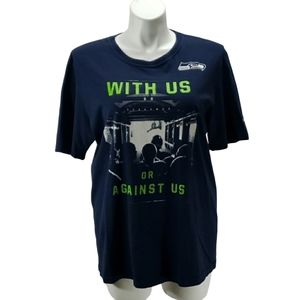 [Nike] With Us or Against Us Seahawks Tshirt